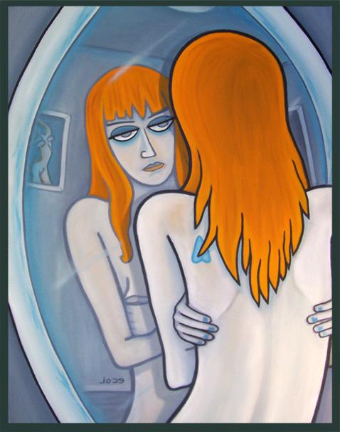 Mirror  | oil on canvas