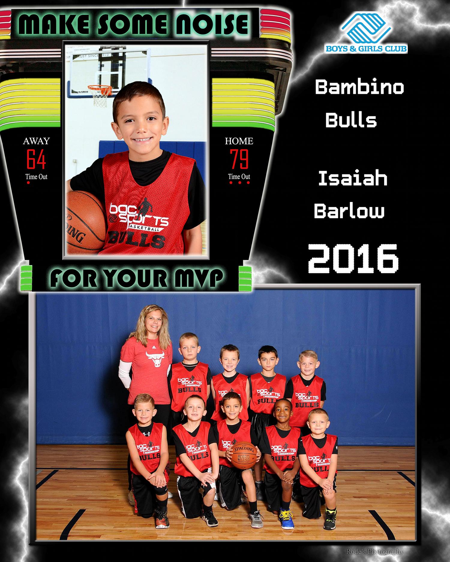 Sports Photographer Boys & Girls Club