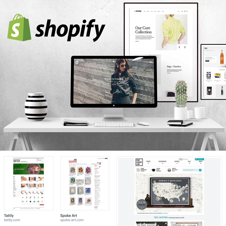 Shopify WEBサイト作成代行サービス   高機能なECサイト・WEBサイトが作れる、Shopify(ショピファイ)で、ハイクオリティなネットショップ/ホームページをOPENしませんか?