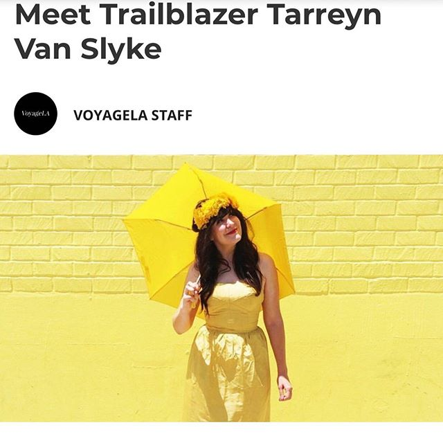 Somethin cool! The nice people at @voyagelamag did a profile piece on me and my windy journey to where I'm at! Link in profile.