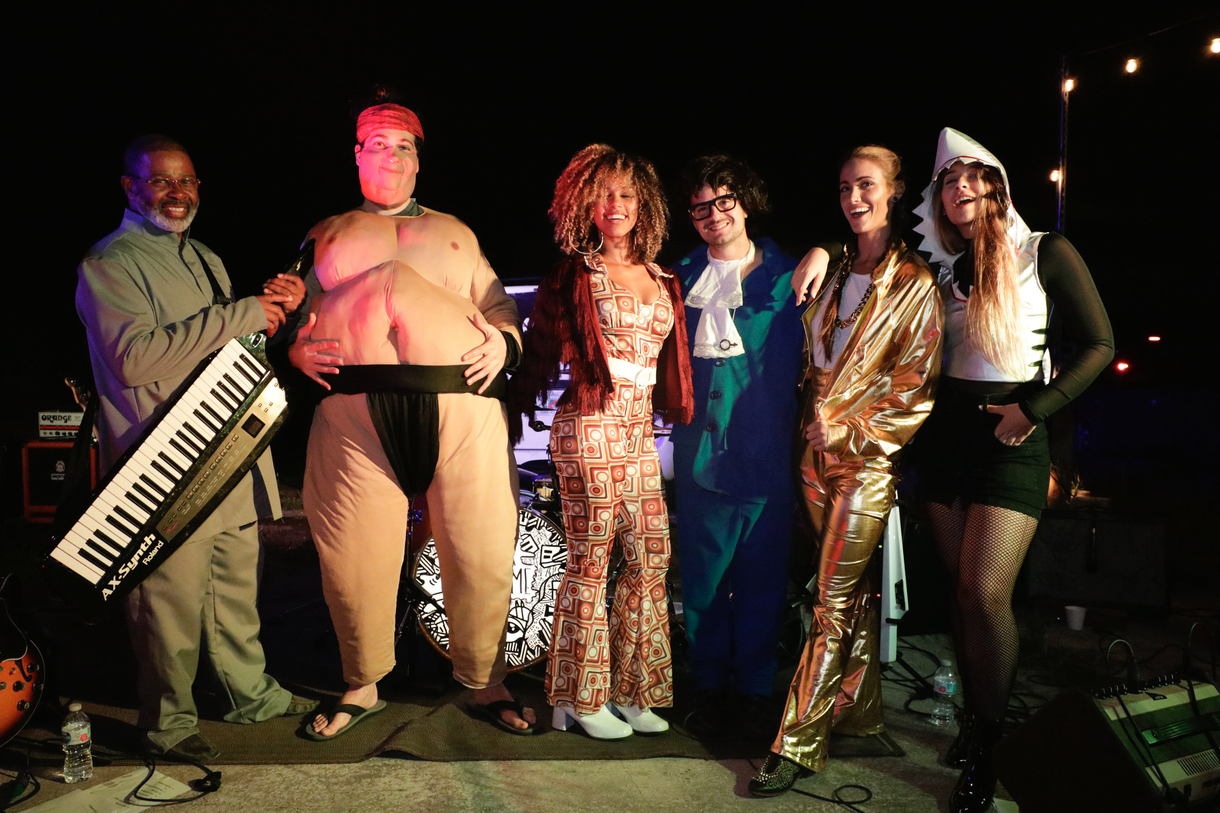 Sons & Daughters Halloween Party - 10.31 - Lake Worth, FL (Austin Powers characters)