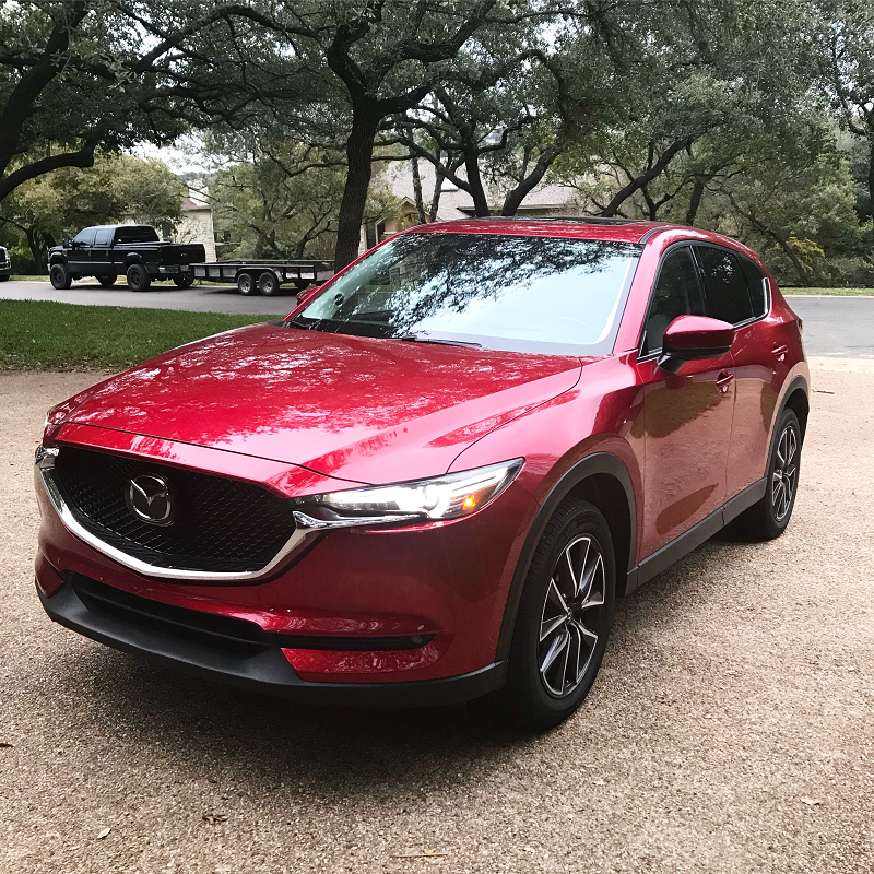 Ready to roll in our mazda cx-5!