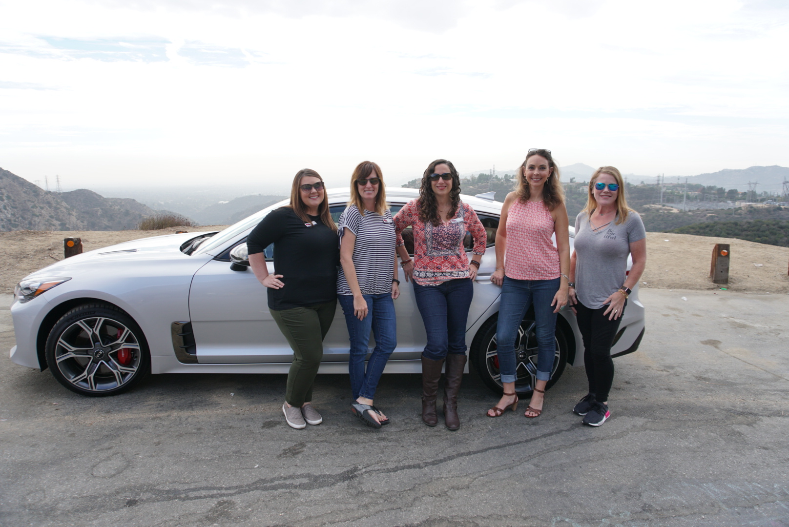 Women who love to drive:  Alice Chase ,  Fadra Nally , Me,  Meagan Shamy , and  Stacie Connerty .