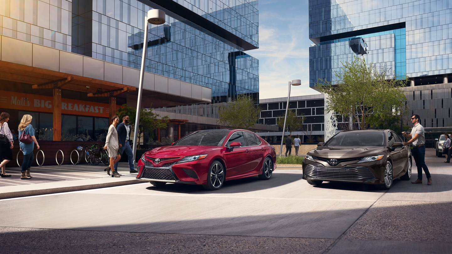 Check out that exterior on the new Toyota Camry! PHOTO: Toyota.com