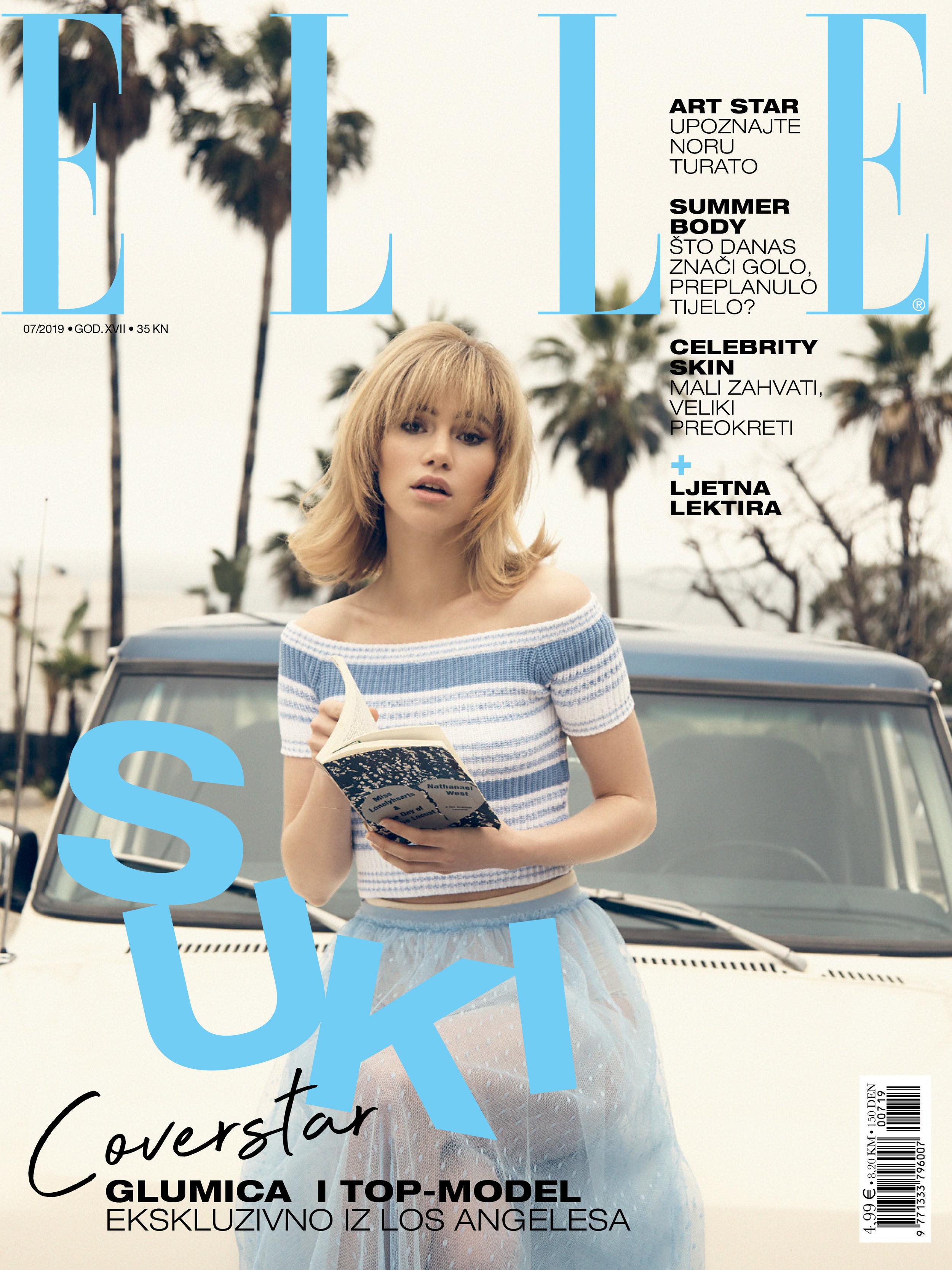 Thom Kerr Suki Waterhouse Elle Magazine