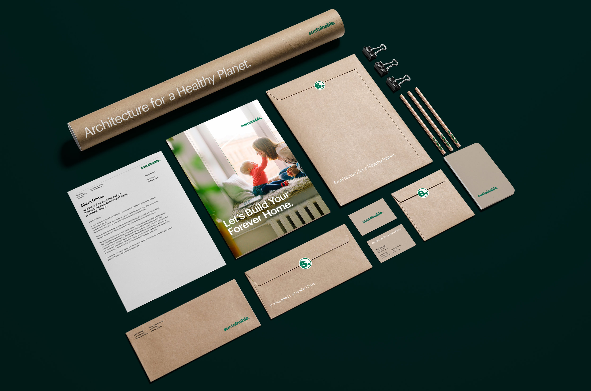 Naming, a Brand Identity, and Initial Marketing Materials -