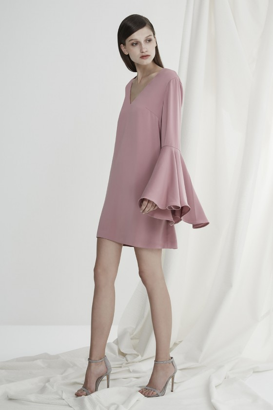 Shop Keepsake The Label Faithful Long Sleeve Mini Dress.