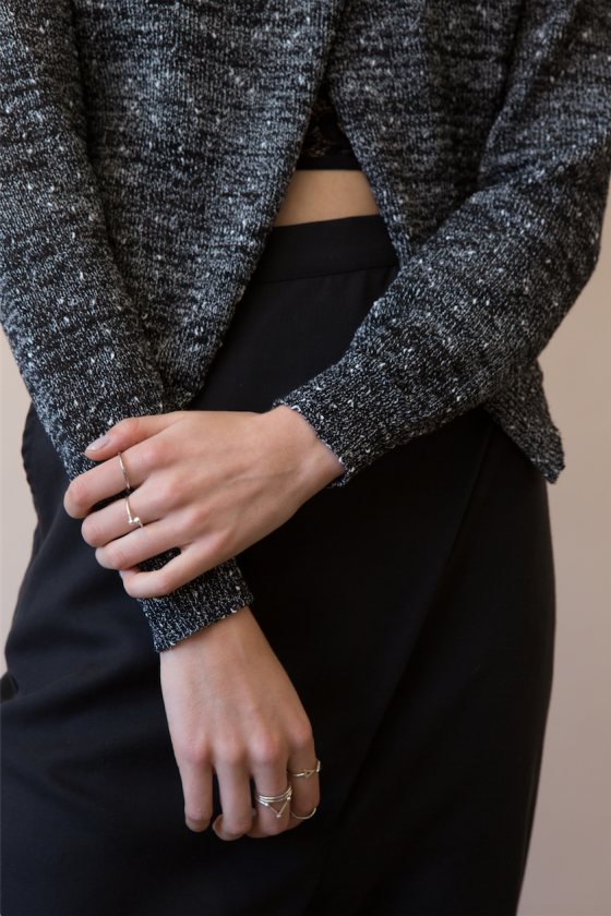 The Fifth Label The Creator Knit + Born Free Pants + Keepsake The Label Mary Bra.