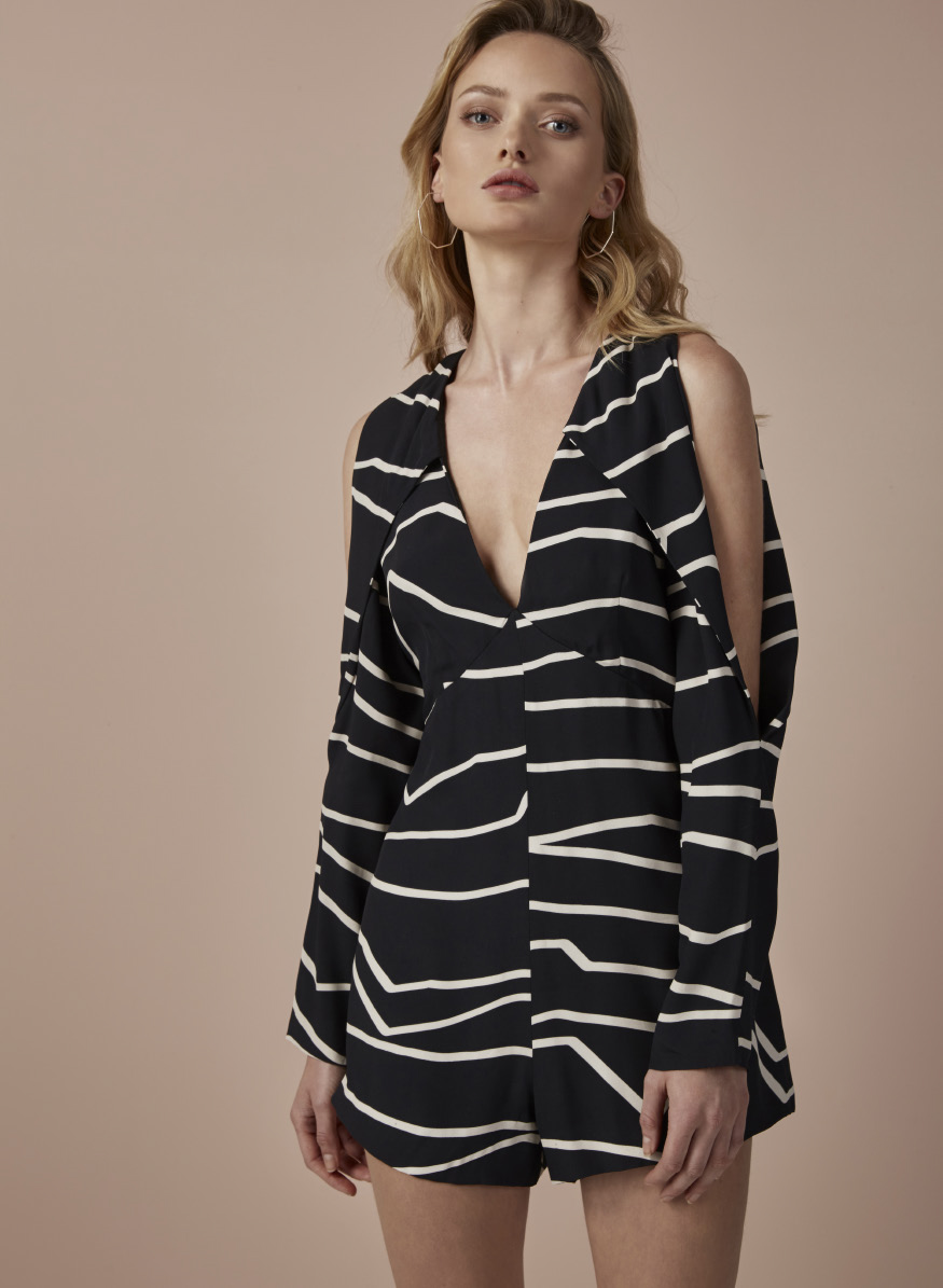 C/MEO Do It Now Outline Playsuit