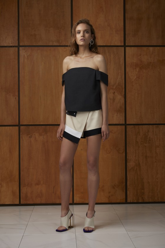 Shop C/MEO COLLECTIVE All Under One Top + Do It Again Short.