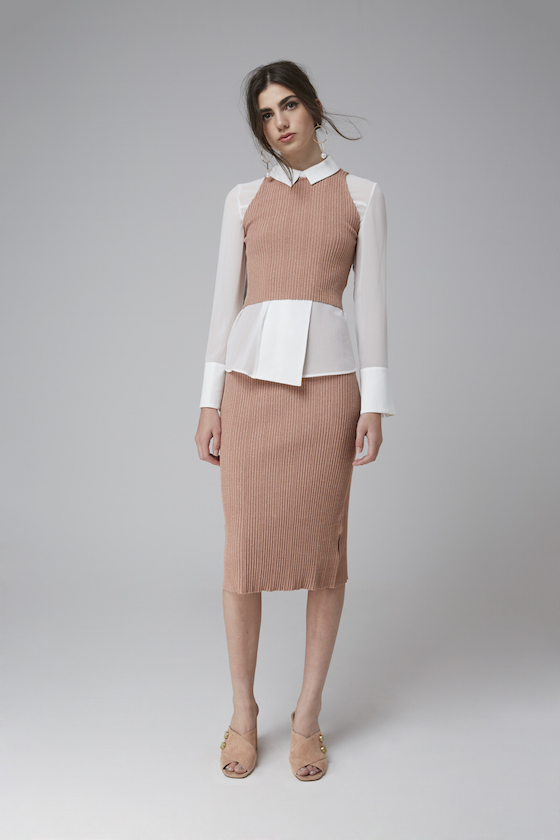 Shop C/MEO Good Life Top, Keepsake What If Knit Crop + Skirt.