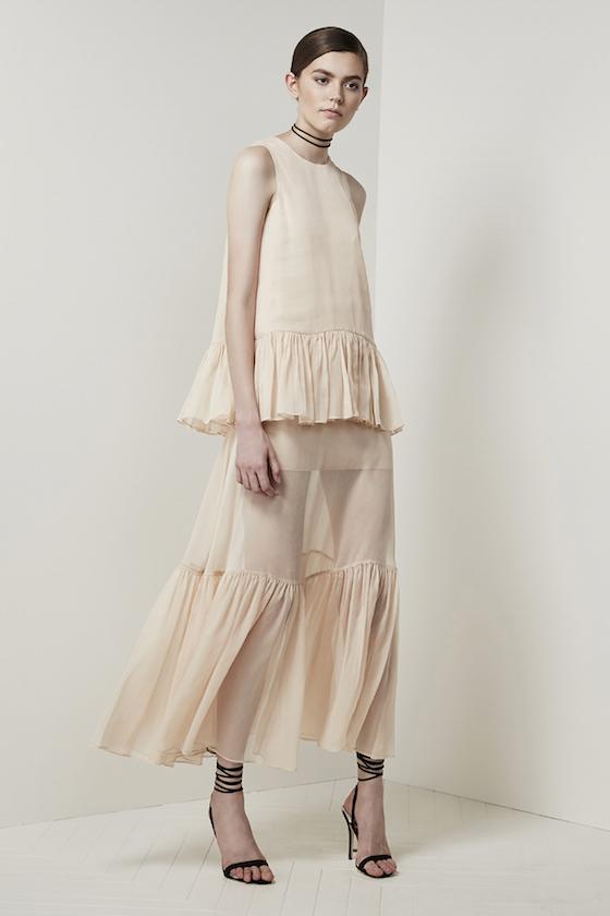 Shop Keepsake All Rise Top + Maxi Skirt.