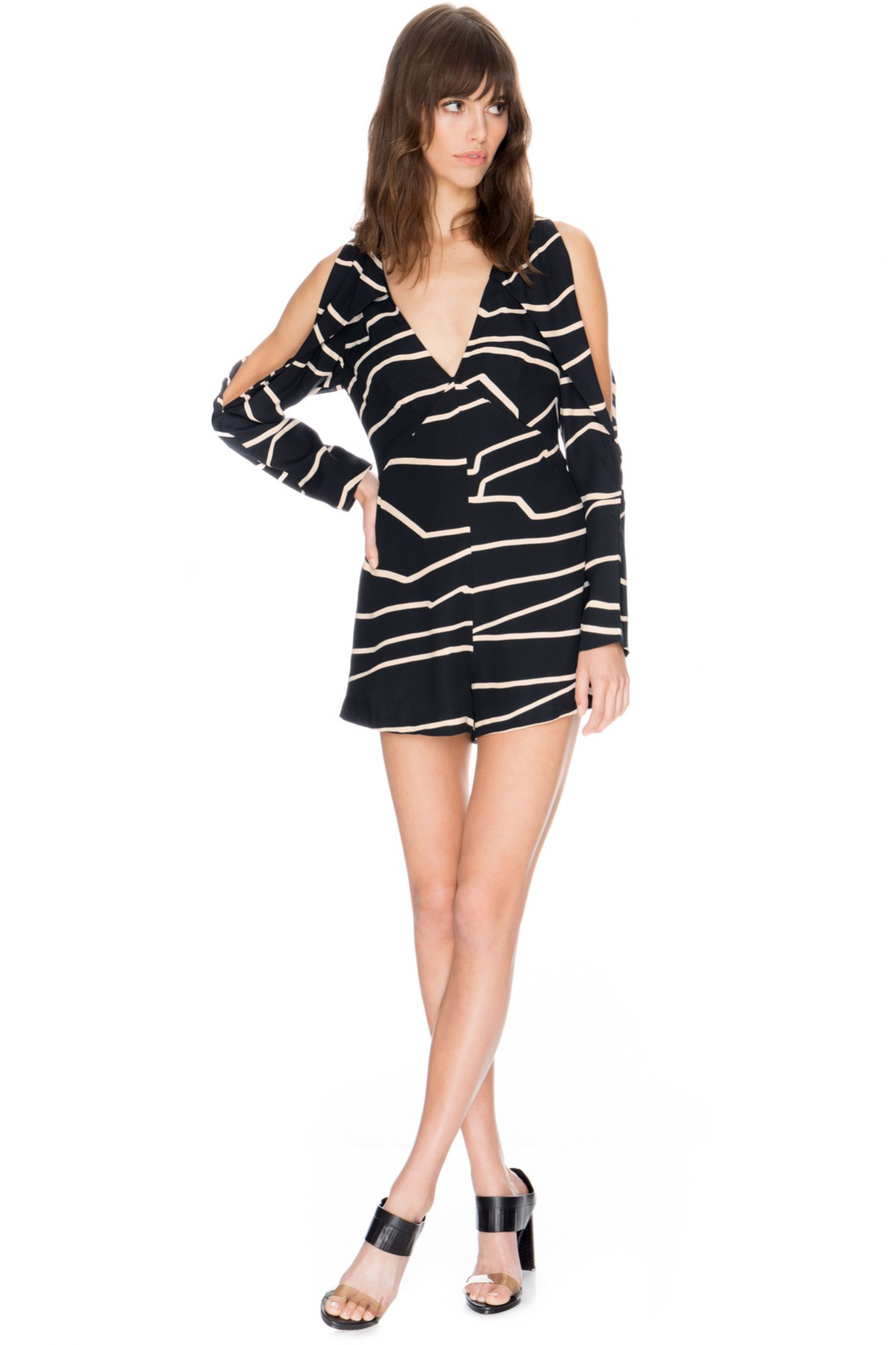 C/MEO Do It Now Outline Playsuit.