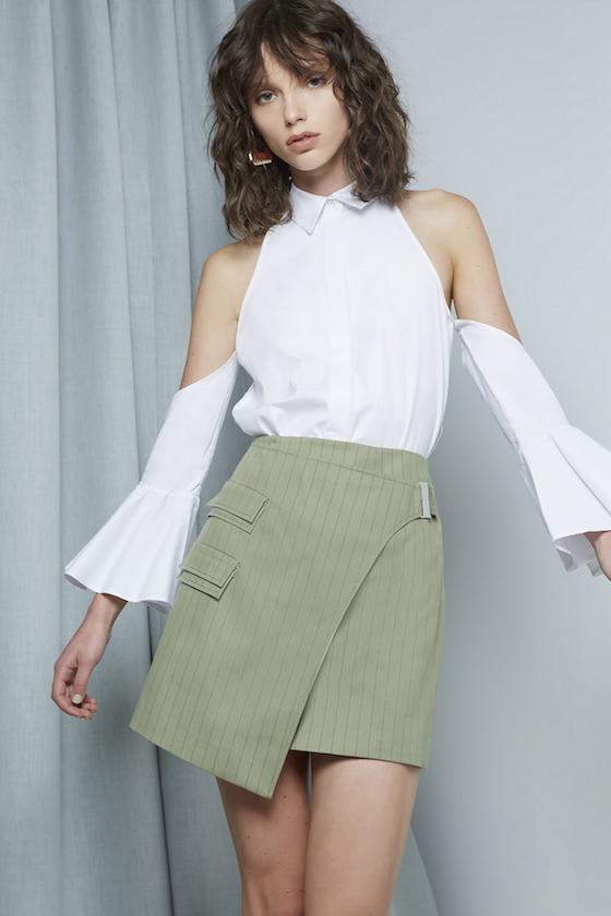 Shop C/MEO Show Me Shirt + Real Life Skirt.