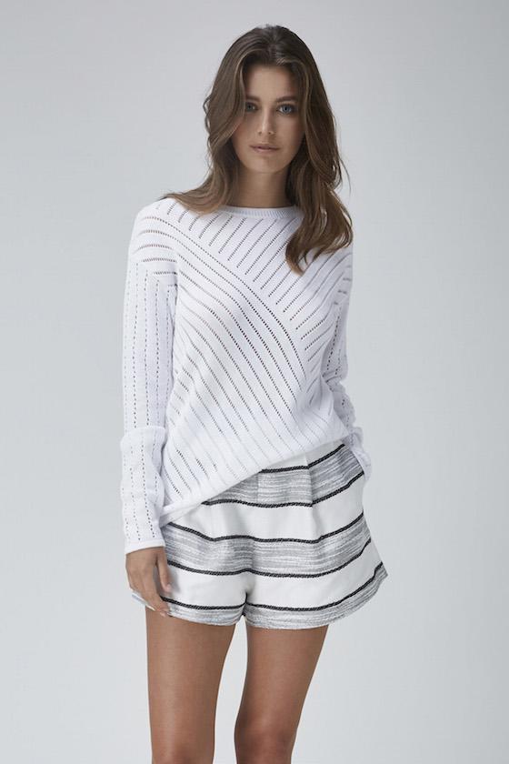 Shop Finders Tightrope Knit + Begin Again Short.