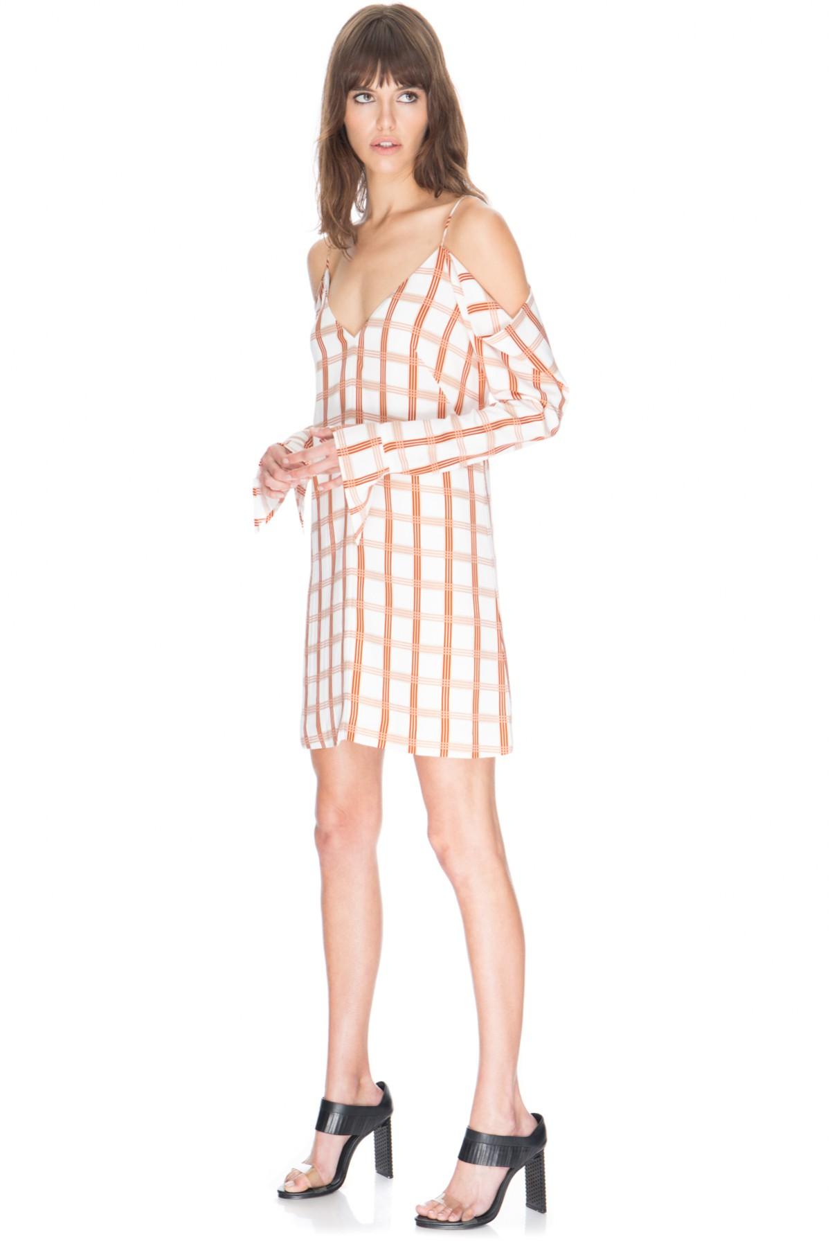 Shop C/MEO Cold Shoulder Dress.