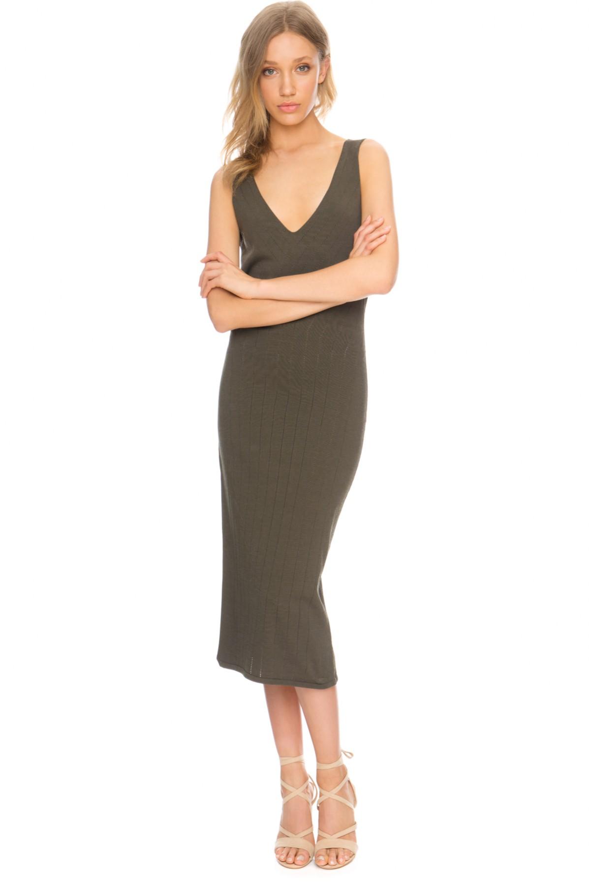 Shop the FINDERS Titanium Dress.