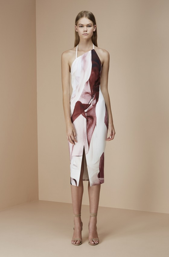 Shop Keepsake The Label Walk The Wire Midi Dress