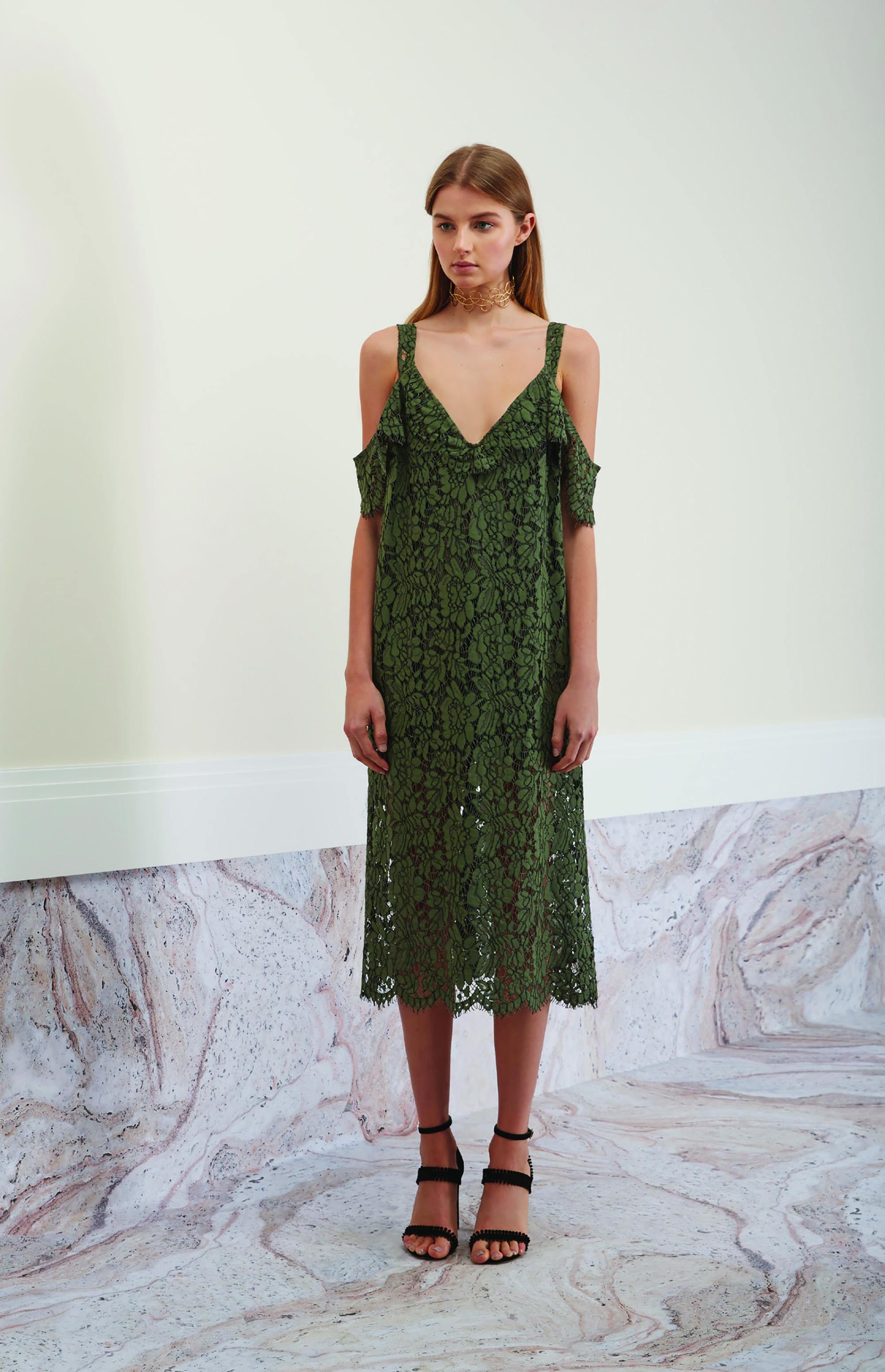 Keepsake The Label Heartbreaker Lace Dress