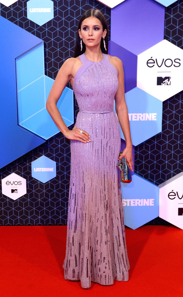 Calling it - Nina is the classiest woman at the EMAs. Getty Images