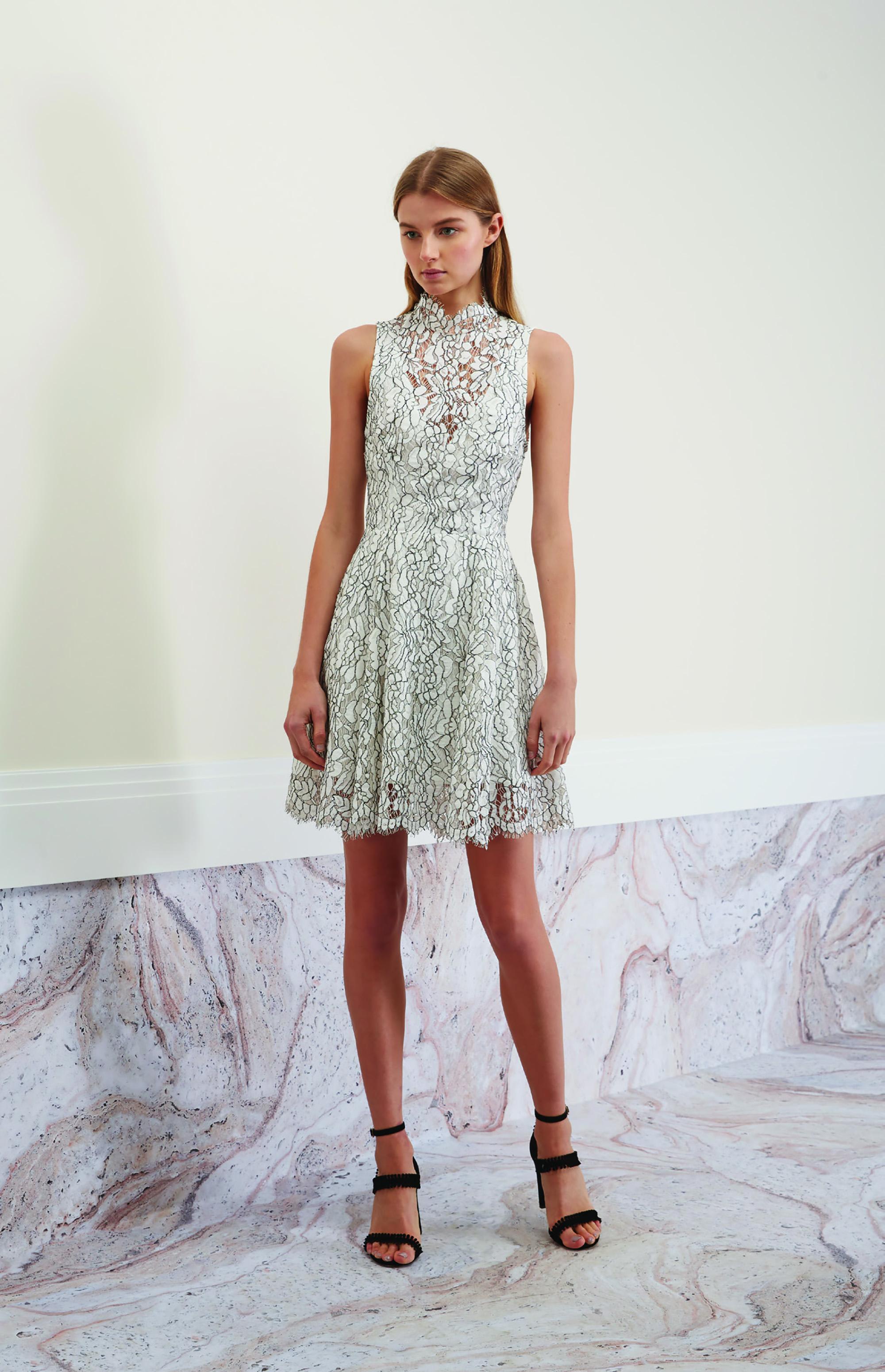 Porcelain Lace Dress.