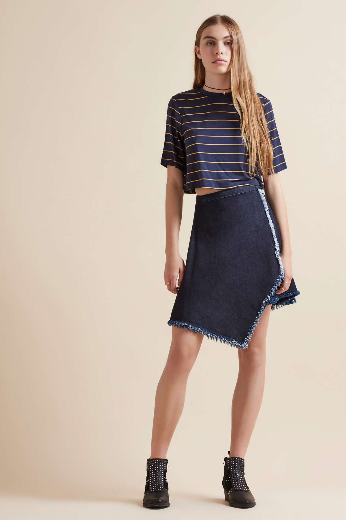 The Fifth Deep Valley Top  +  Front Row Skirt .