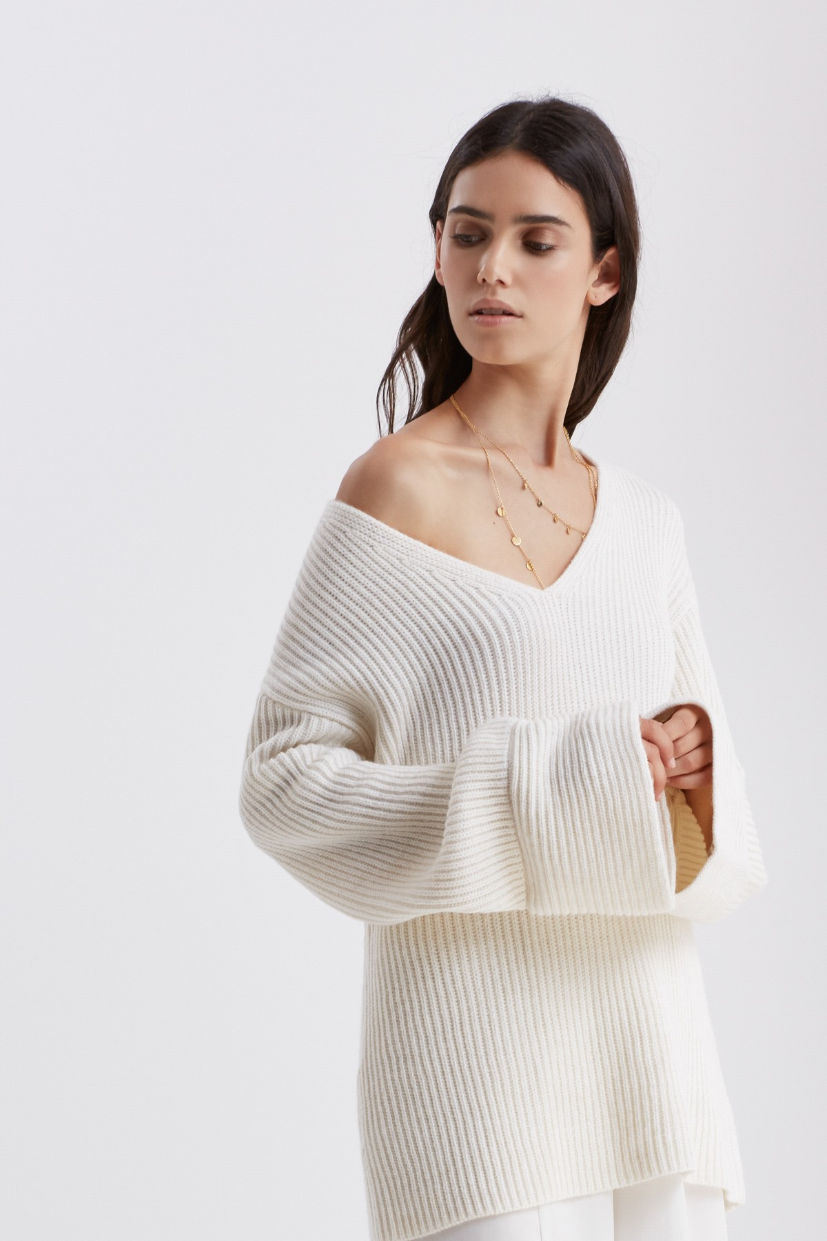 Finders Frederick Flare Sleeve Knit.