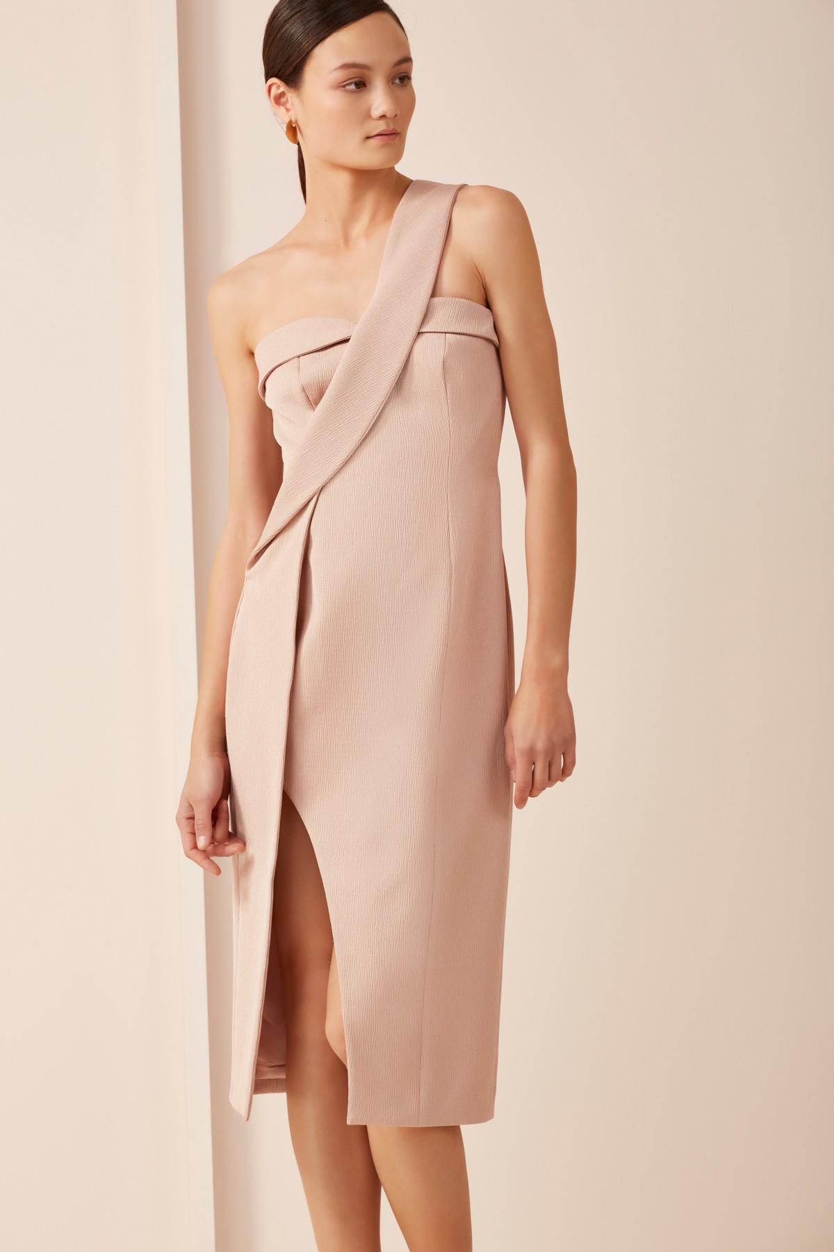 Keepsake Platinum Dress.