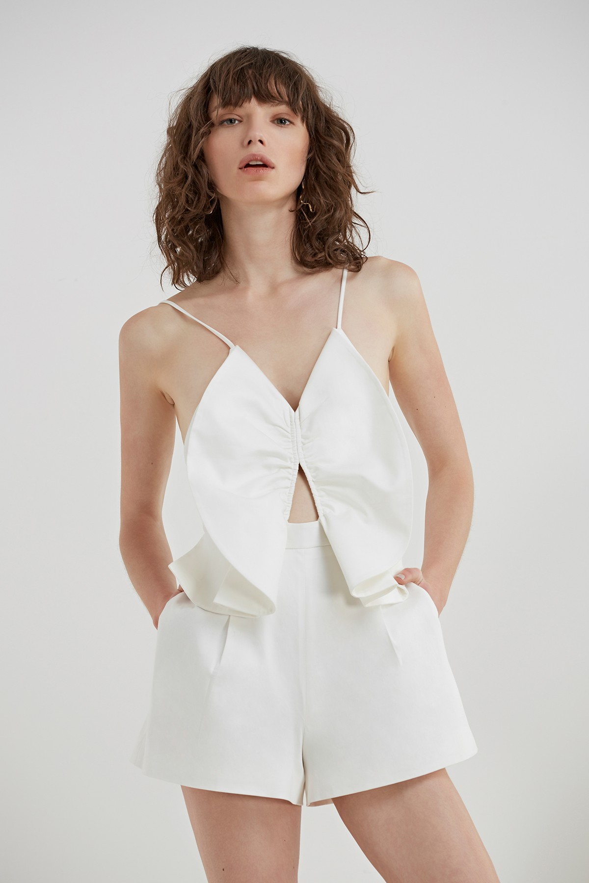 C/MEO COLLECTIVE Little World Playsuit.