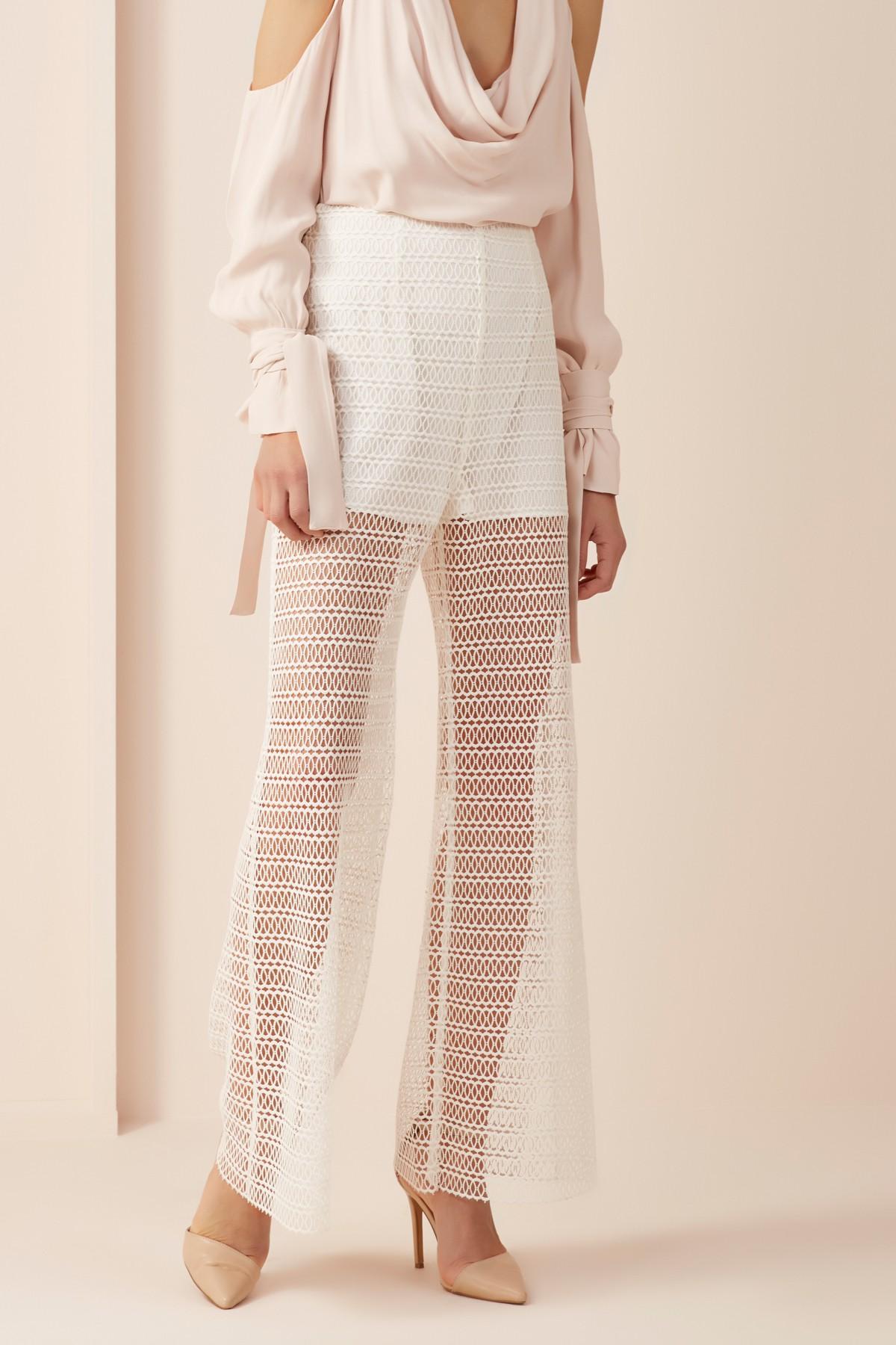 Keepsake The Label All Night Lace Pants.