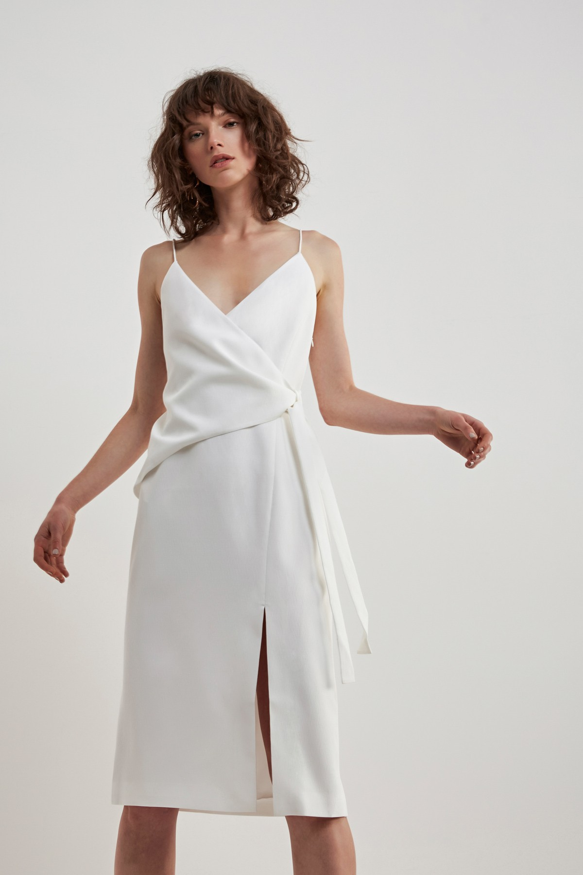 C/MEO COLLECTIVE New Line Dress