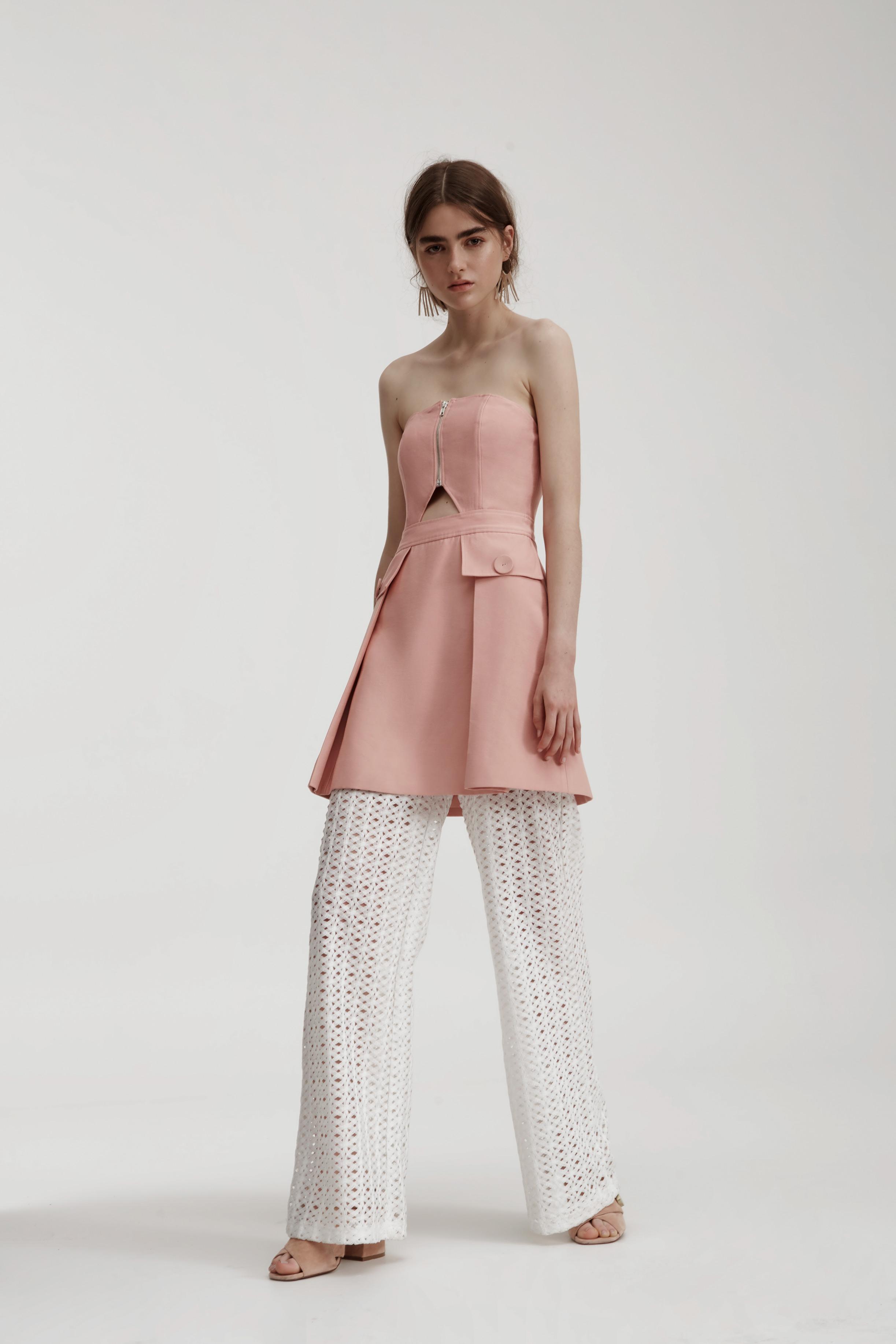 C/MEO COLLECTIVE No Limit Dress + Different Light Pant.