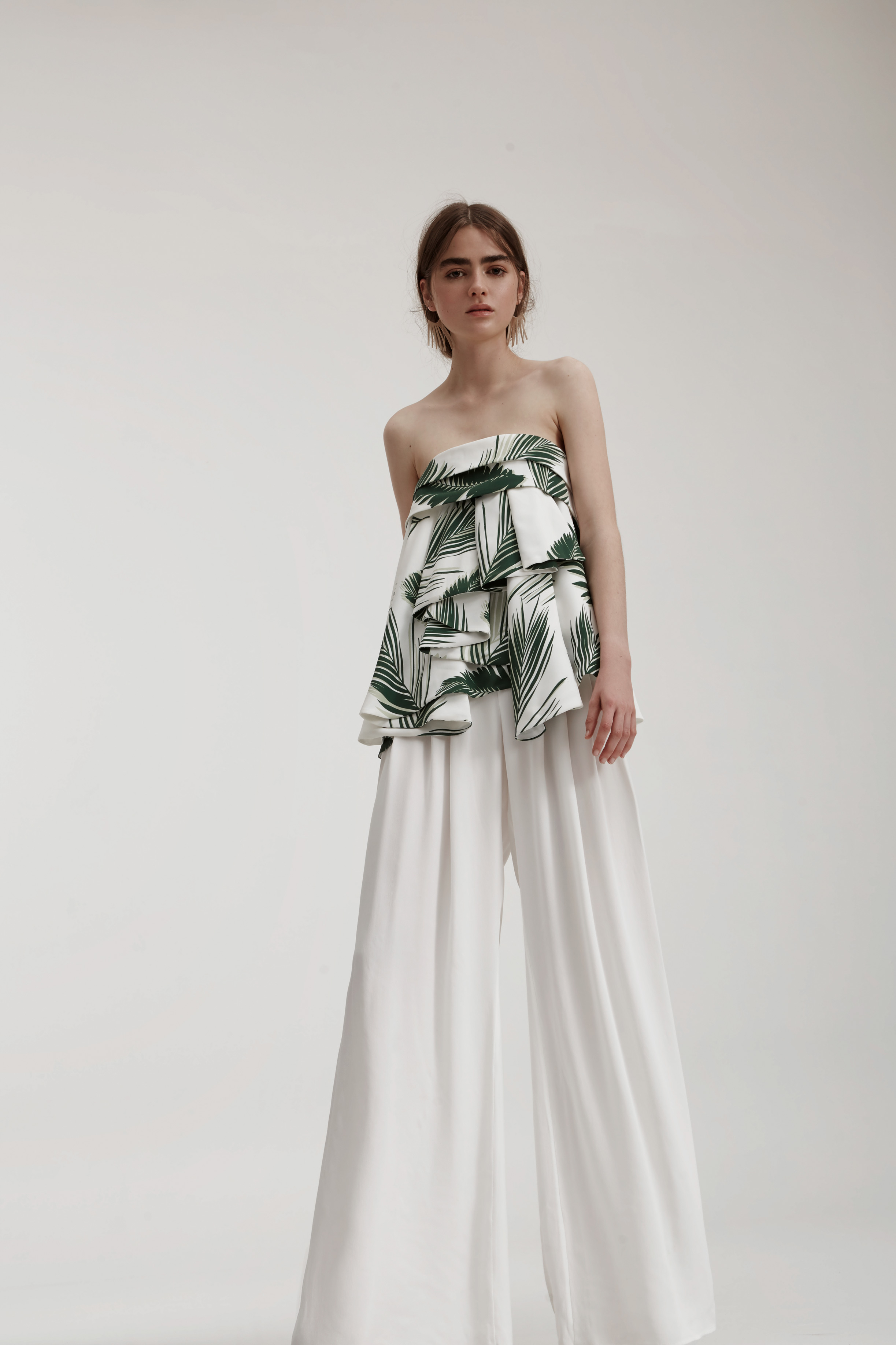 C/MEO COLLECTIVE Interrupt Bustier + Different Light Pant.
