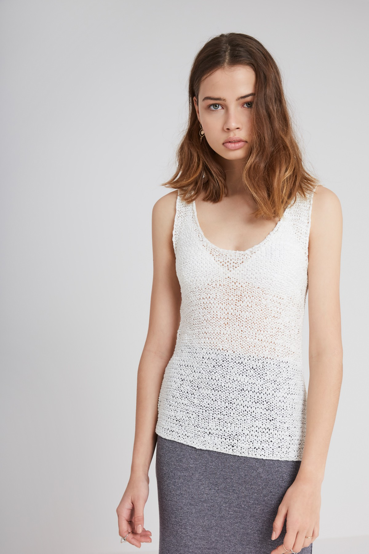 The Fifth Label Bright Light Knit Singlet.