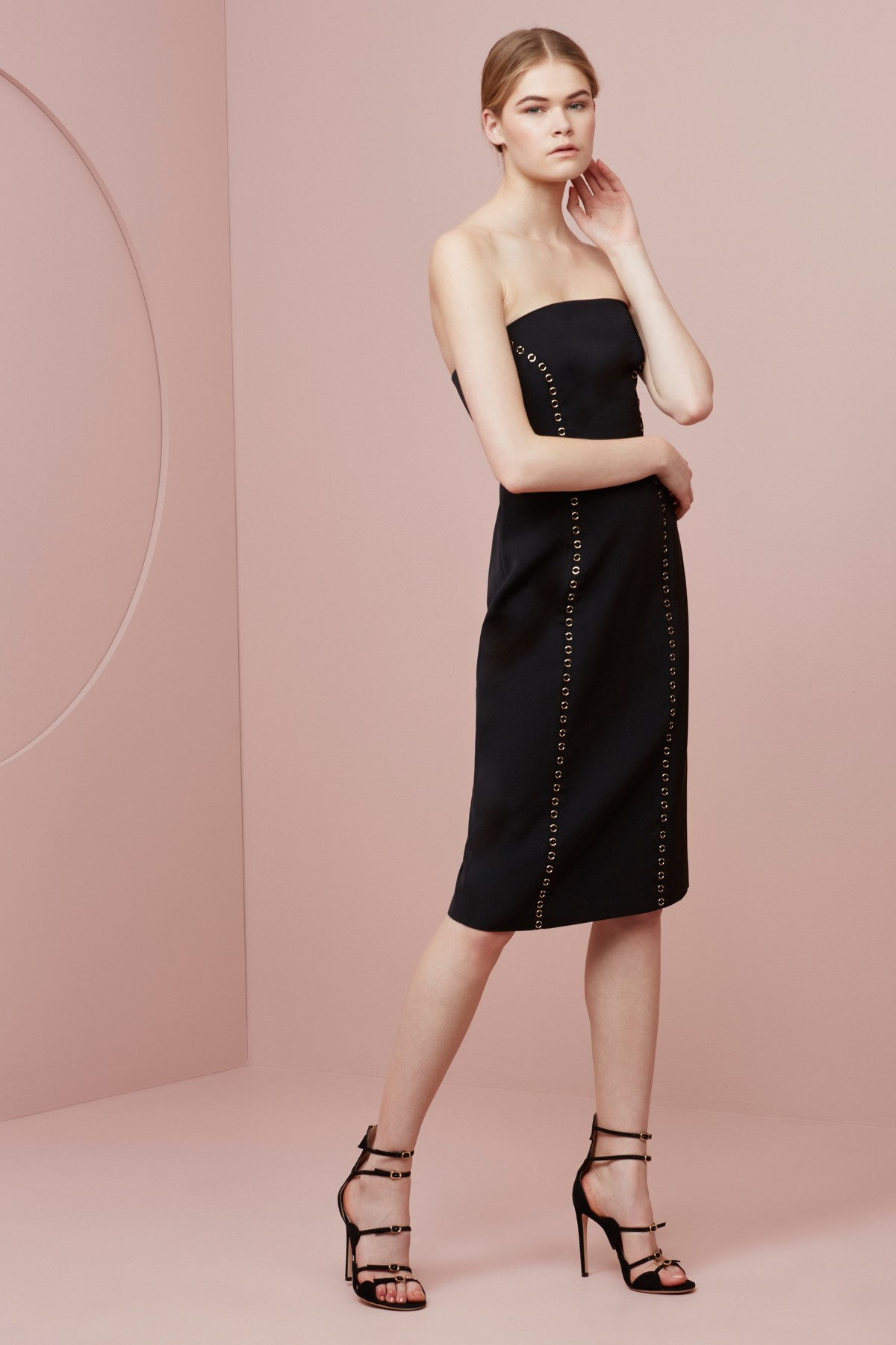 Shop Keepsake In Your Eyes Midi Dress.