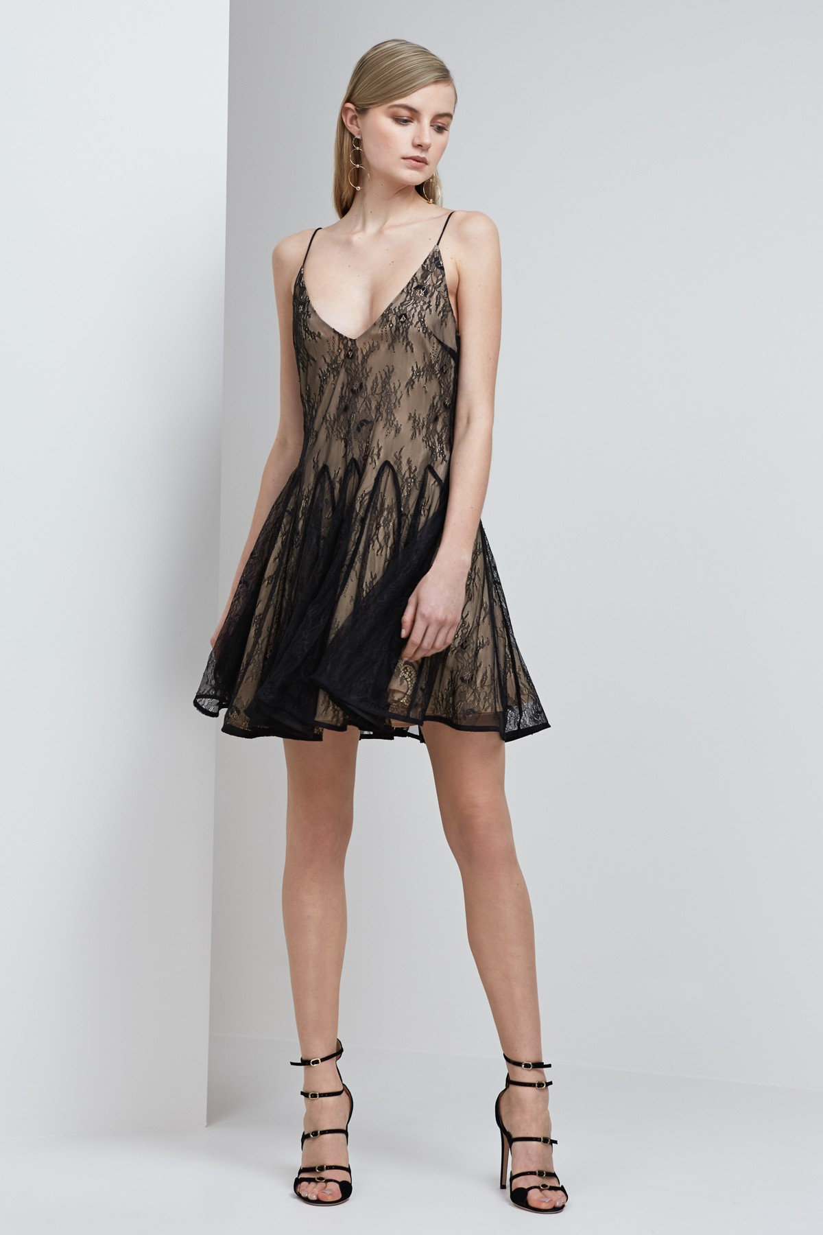 Shop Keepsake Above Water Lace Mini Dress.