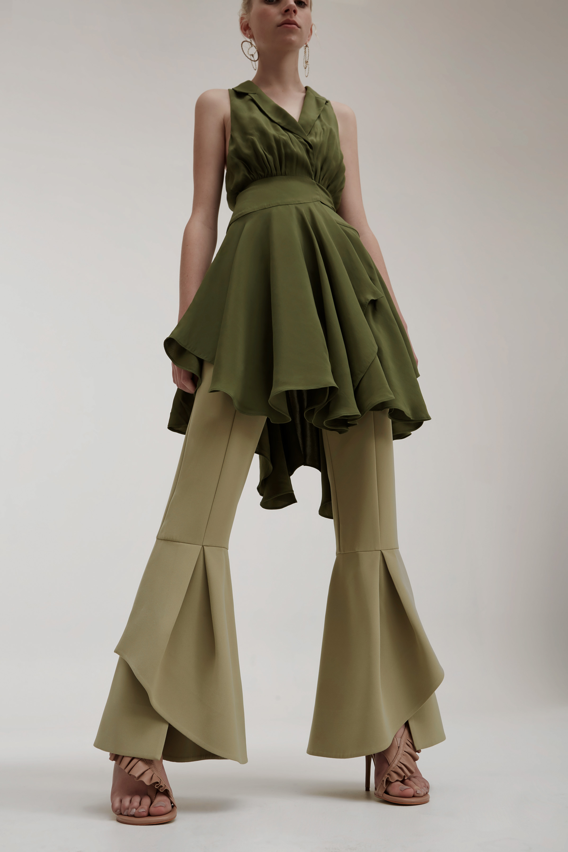 Shop  C/MEO Caught Up S/S Dress  +  Enfold Pant .