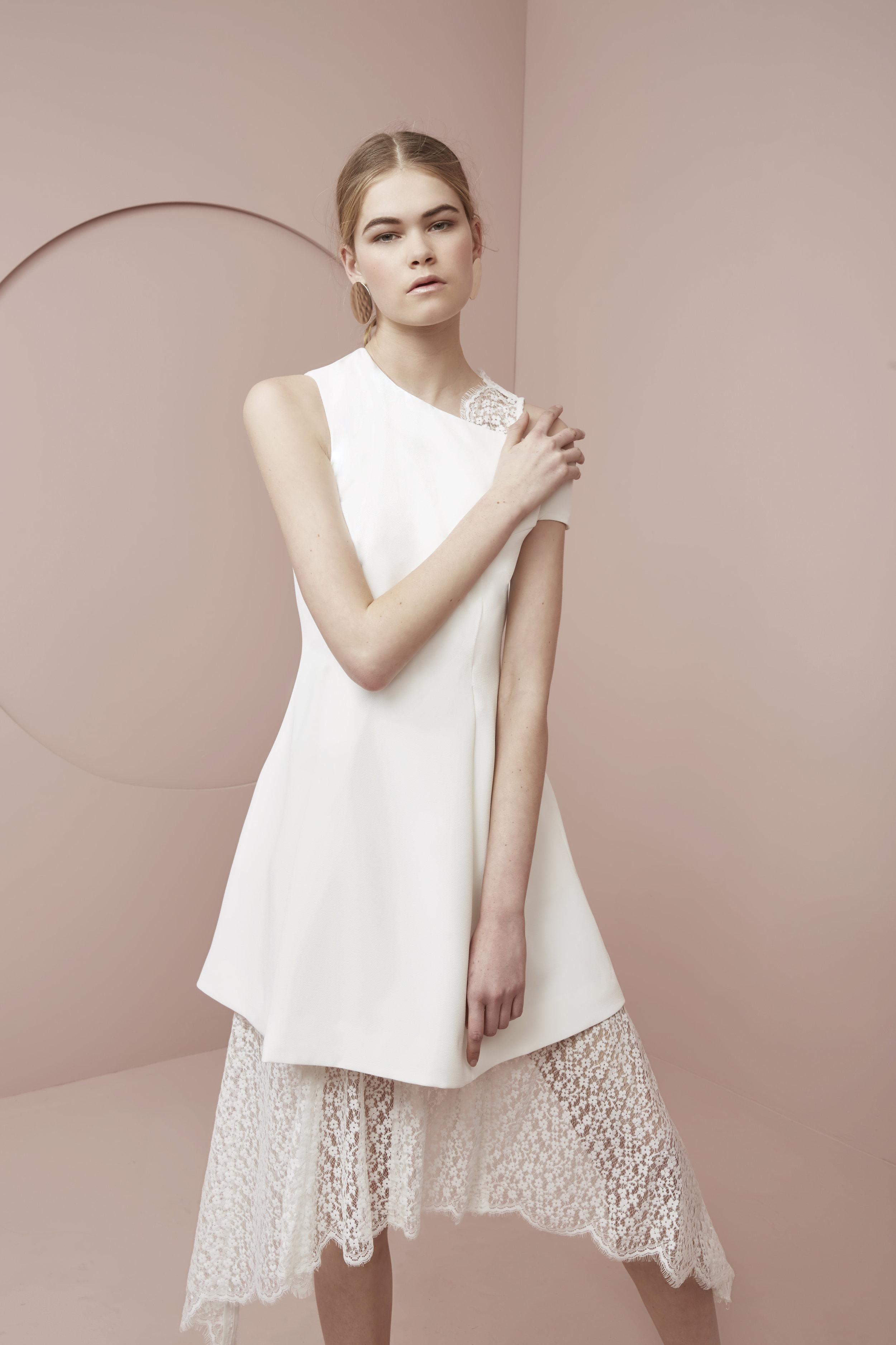 Shop Keepsake  Prelude Lace Maxi Dress  +  Stolen Dance Mini Dress .