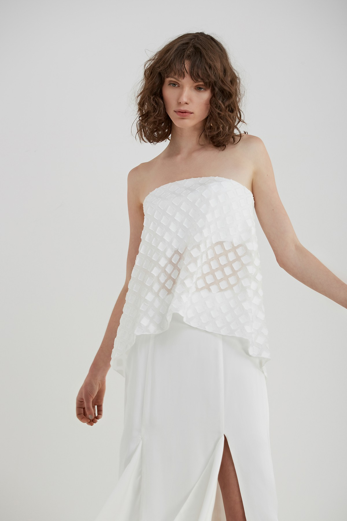 Shop C/MEO COLLECTIVE  Faded Light Bustier  +  Out Of Danger Skirt .