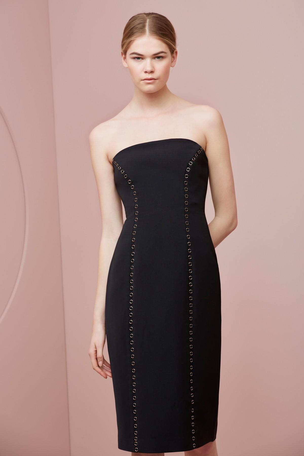 Shop Keepsake In  My Eyes Midi Dress.