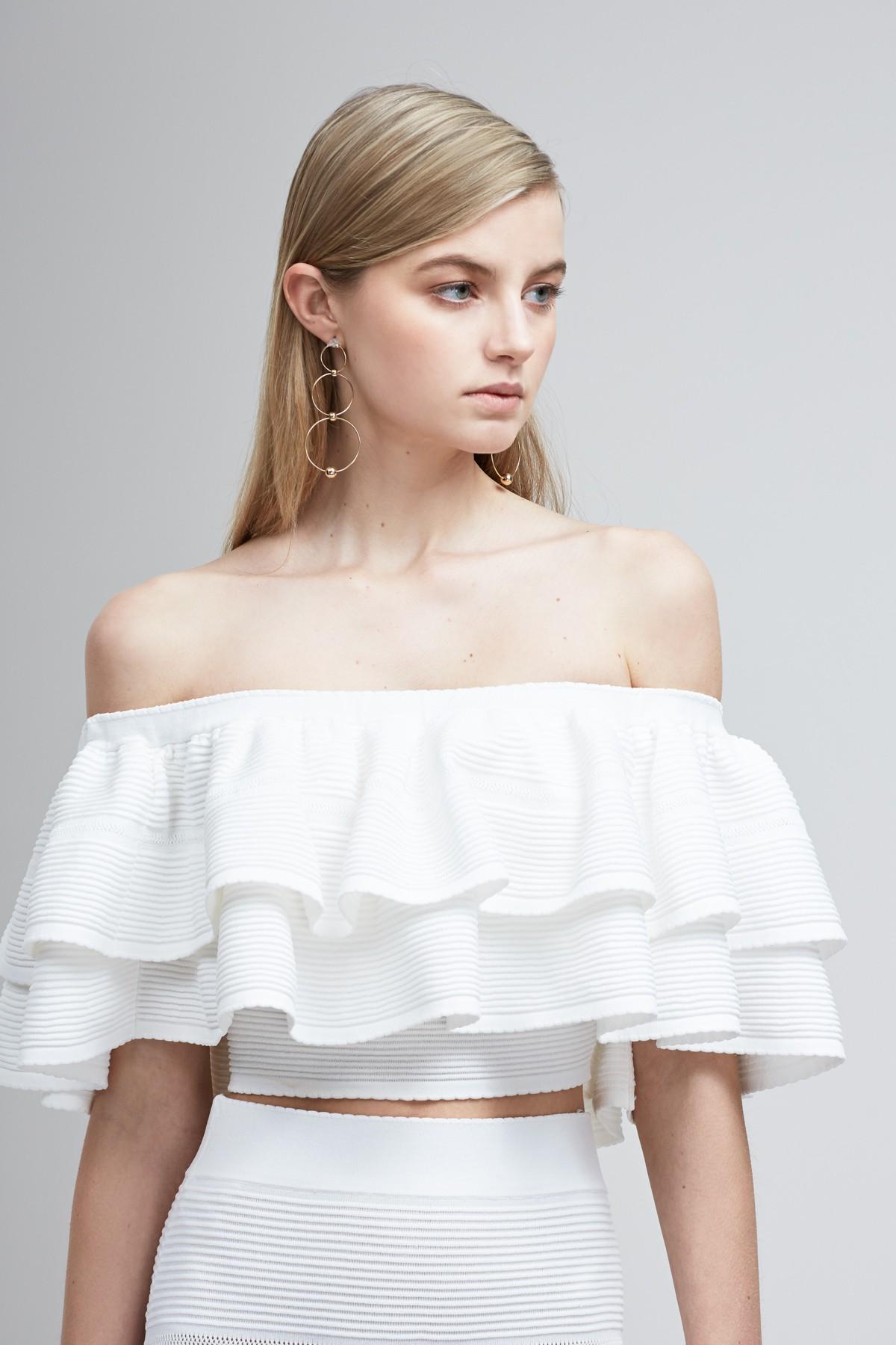 Shop Keepsake  Moonlight Knit Top  +  Skirt.