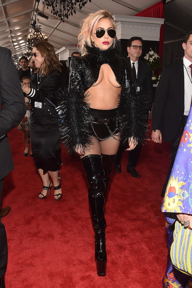 Lady Gaga - The shock value is lost on us Gaga. We get it. You're a badass.
