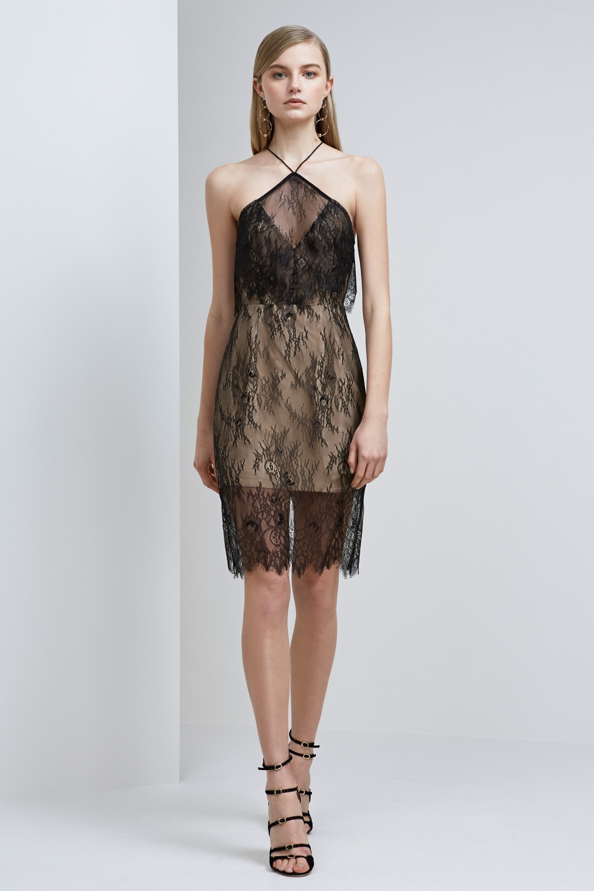 Shop Keepsake Great Love Lace Dress.