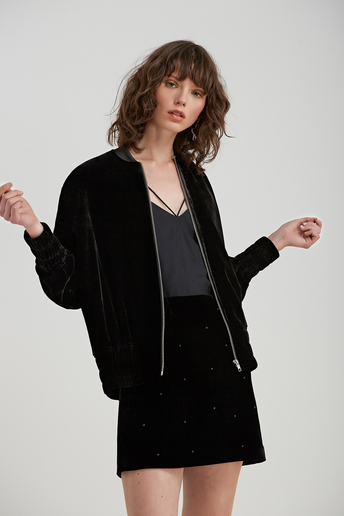 C/MEO COLLECTIVE  Allure Bomber.