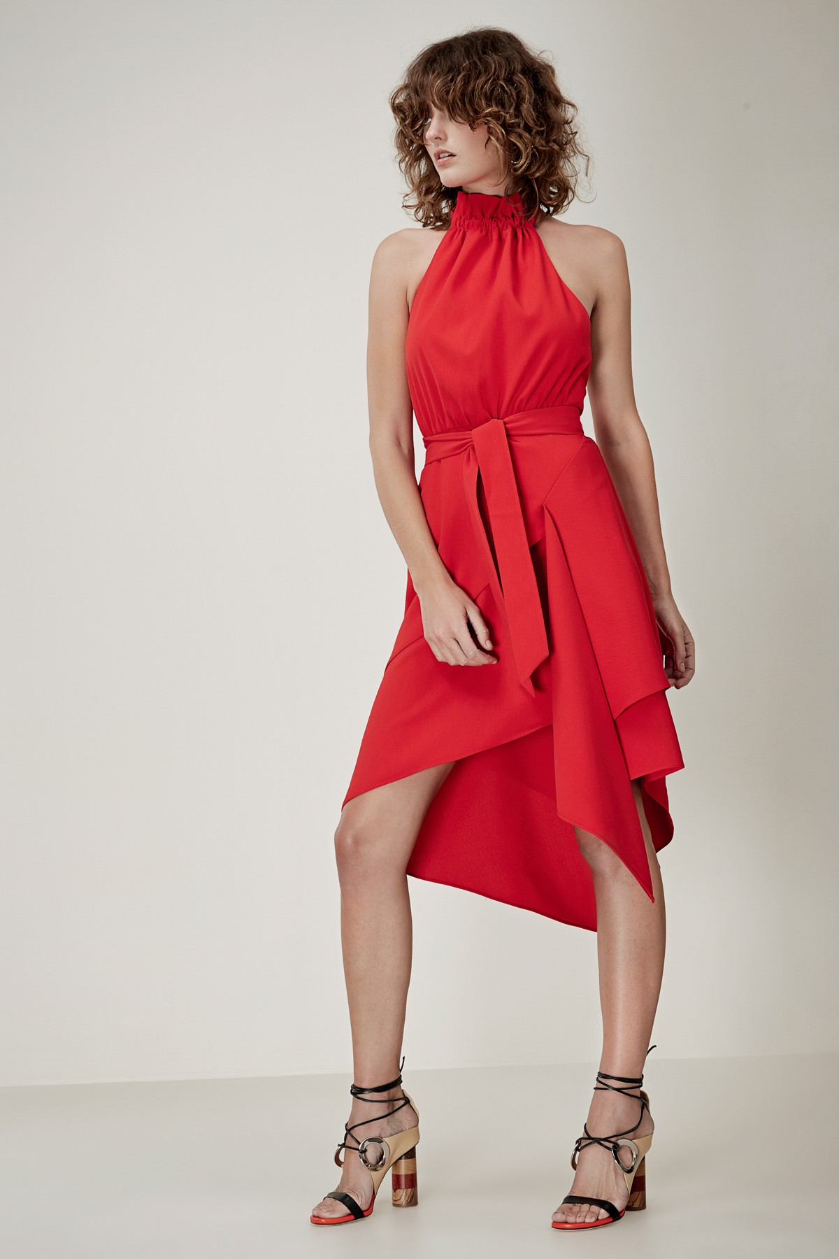 C/MEO COLLECTIVE Out Of Line Dress.