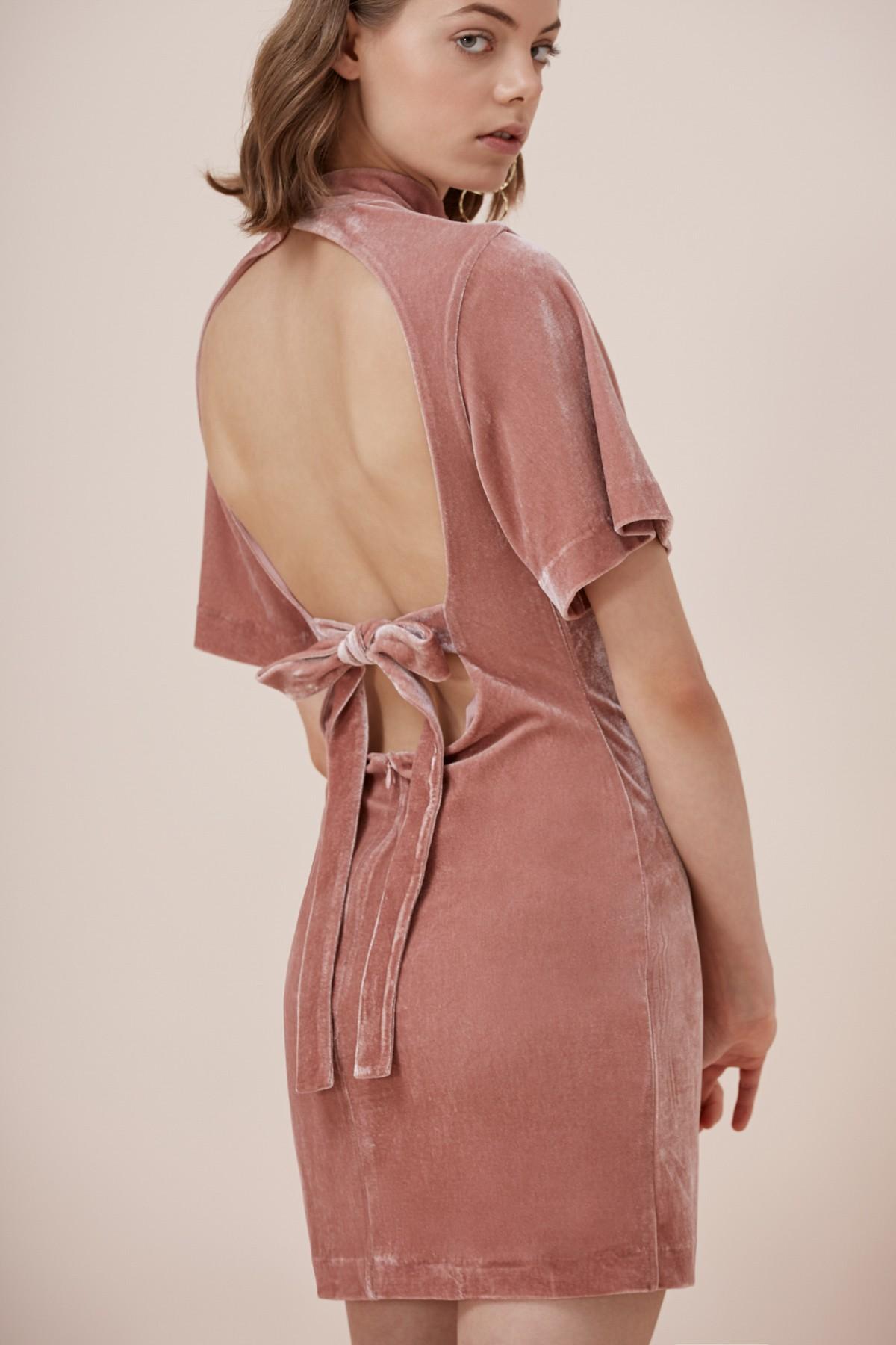 Shop Keepsake Eventually Mini Dress.