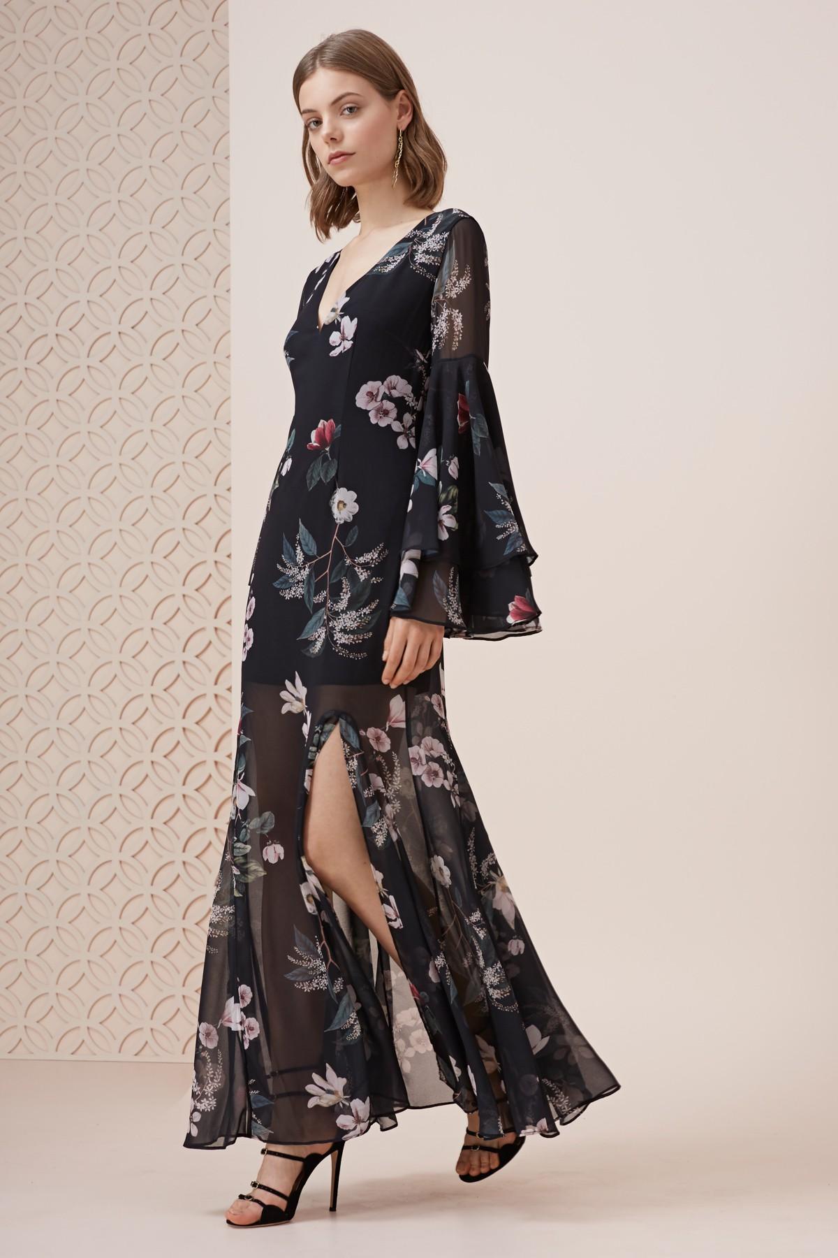 Keepsake The Label Cosmic Girl L/S Maxi Dress