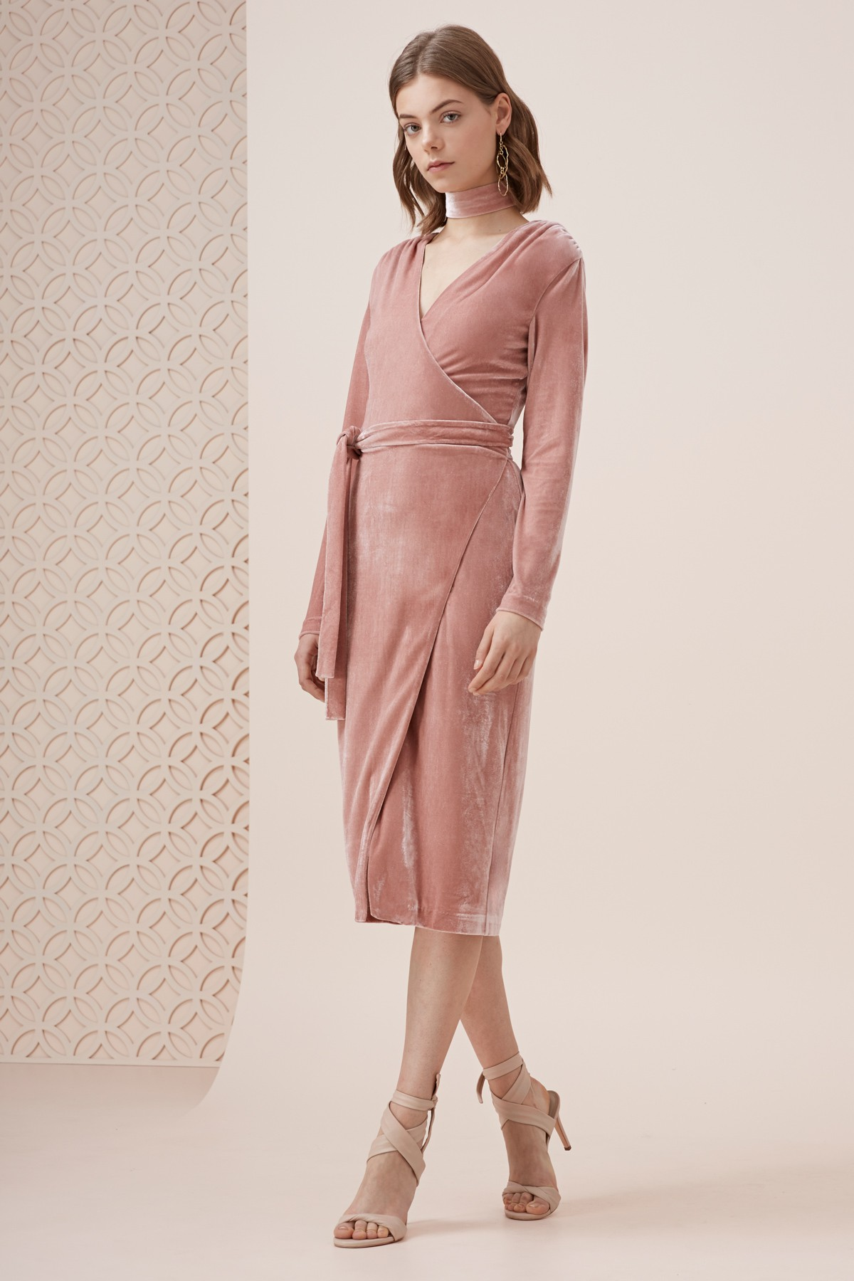 Keepsake The Label Eventually L/S Midi Dress