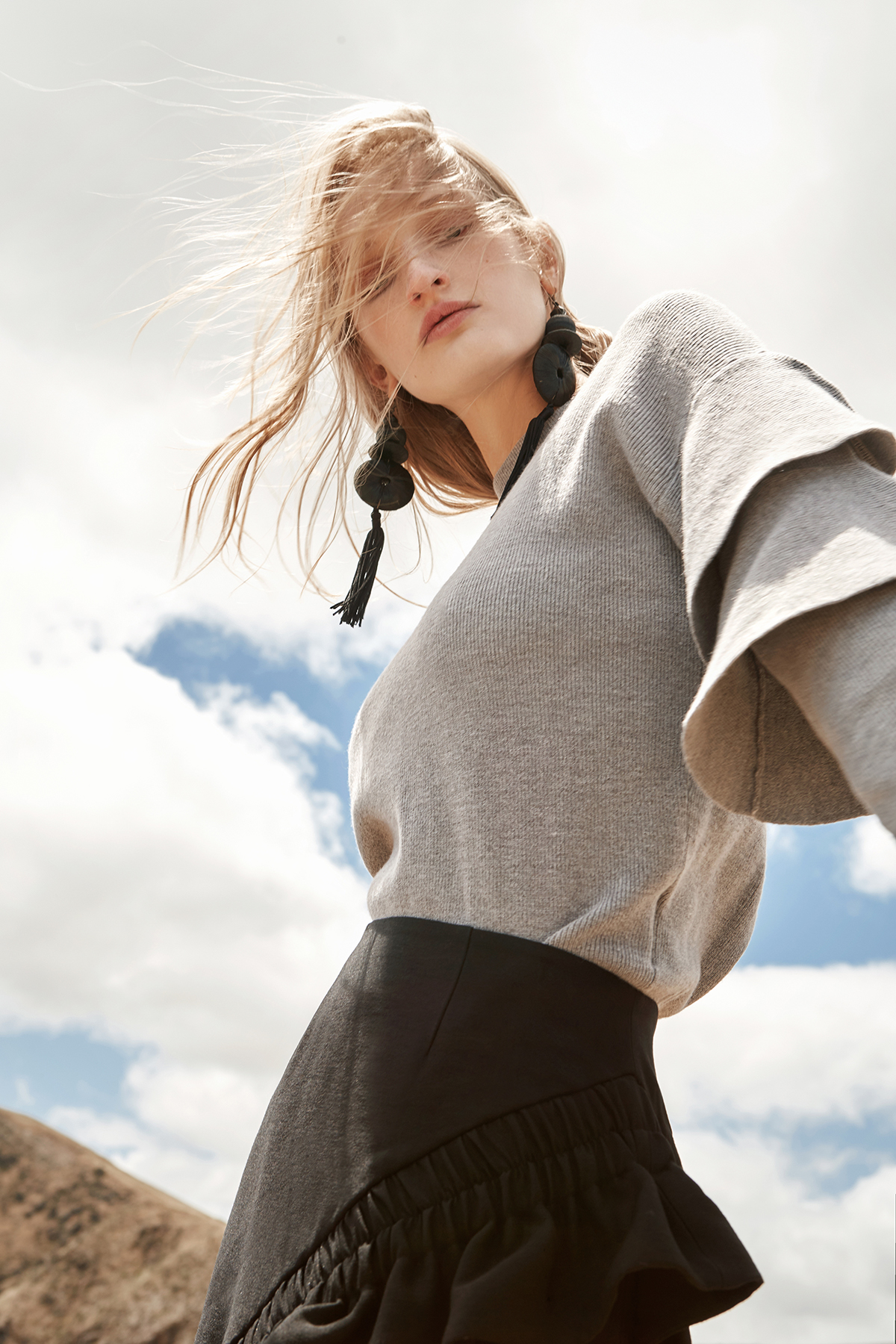 Shop  Never Enough Knit Jumper  +  Double Take Skirt .