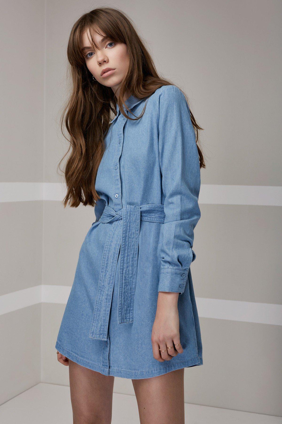 Shop The Fifth Blue Eyes Shirt Dress.